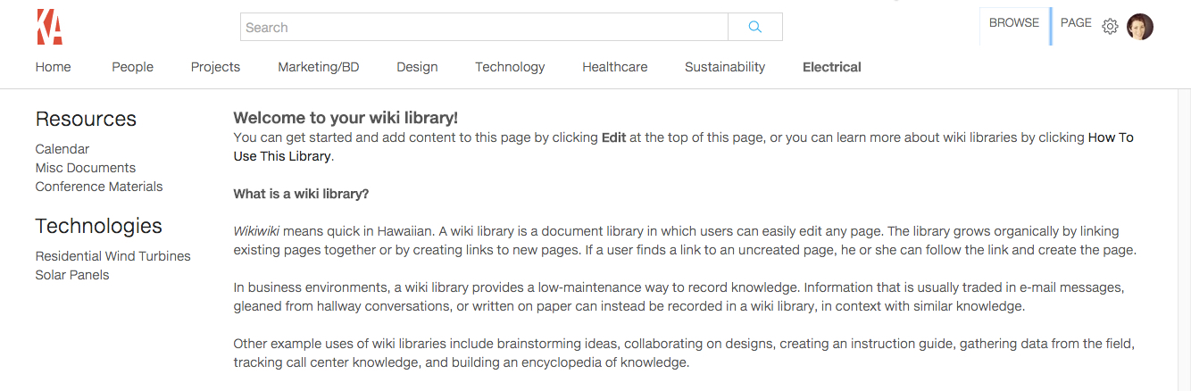Create, Rename, and Delete Wiki Page Libraries – Knowledge